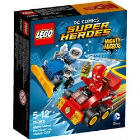 Lego Mighty Micros The Flash vs Captain Cold - 76063