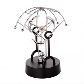 Pajangan Meja Pendulum Newton Model Dolphin - Black
