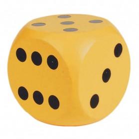 Mainan Dadu Kayu - WD18 - Yellow