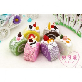 Squishy Toy Model Kue Bolu - Multi-Color - 5