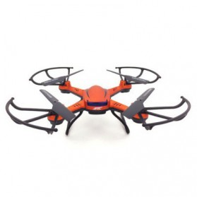 JJRC H12W Quadcopter Drone Wifi dengan Kamera 2MP 720P - Red - 4
