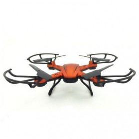 JJRC H12W Quadcopter Drone Wifi dengan Kamera 2MP 720P - Red - 5