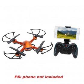 JJRC H12W Quadcopter Drone Wifi dengan Kamera 2MP 720P - Red - 7