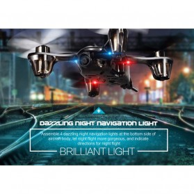 JJRC H6D Quadcopter Drone dengan Kamera 2MP 720P - Black - 5