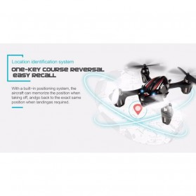 JJRC H6D Quadcopter Drone dengan Kamera 2MP 720P - Black - 6