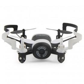 JXD Mini UFO Quadcopter Drone Wifi dengan Kamera 0.3MP - 512DW - White/Black - 2