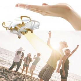 JXD Mini UFO Quadcopter Drone Wifi dengan Kamera 0.3MP - 512DW - White/Black - 5