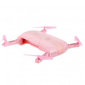 JJRC H37 Elfie Valentine Version Drone Wifi dengan Kamera 2MP 720P - Pink - 3