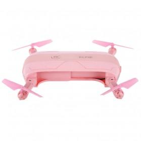 JJRC H37 Elfie Valentine Version Drone Wifi dengan Kamera 2MP 720P - Pink - 4