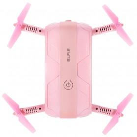 JJRC H37 Elfie Valentine Version Drone Wifi dengan Kamera 2MP 720P - Pink - 5