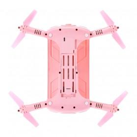 JJRC H37 Elfie Valentine Version Drone Wifi dengan Kamera 2MP 720P - Pink - 6