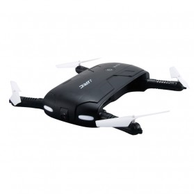 JJRC H37 Elfie Quadcopter Drone Wifi dengan Kamera 2MP 720P - Black