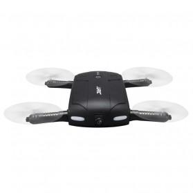 JJRC H37 Elfie Quadcopter Drone Wifi dengan Kamera 2MP 720P - Black - 2