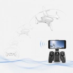 Mini Quadcopter Drone Wifi with 0.3MP Camera- FY603 - White - 4