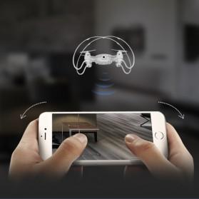Mini Quadcopter Drone Wifi with 0.3MP Camera- FY603 - White - 5