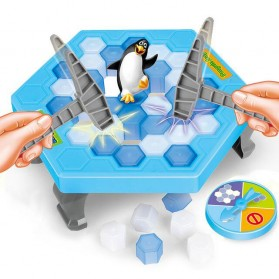Mainan Penguin Trap Ice Breaking
