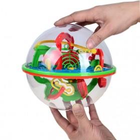 BOHS Permainan Bola Keseimbangan 3D Labyrinth - Green