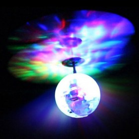 TOAWLC Mainan Flash Flying Ball Disco Helicopter - XD988 - Multi-Color - 2