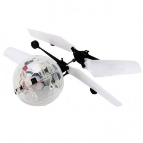 TOAWLC Mainan Flash Flying Ball Disco Helicopter - XD988 - Multi-Color - 3
