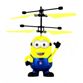 Mainan Flying Ball Model Minion - Blue/Yellow