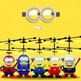 Mainan Flying Ball Model Minion - Blue/Yellow - 2