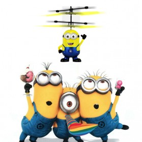 Mainan Flying Ball Model Minion - Blue/Yellow - 3