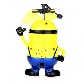 Mainan Flying Ball Model Minion - Blue/Yellow - 4