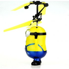 Mainan Flying Ball Model Minion - Blue/Yellow - 6