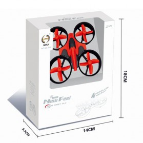 Leadingstar Quadcopter Drone - NH010 - Red - 5