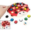 Papan Permainan Asah Otak Daya Ingat Model Kumbang - Multi-Color