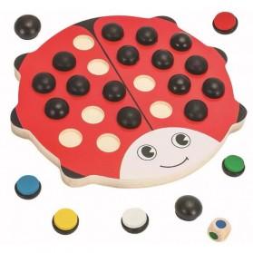 Papan Permainan Asah Otak Daya Ingat Model Kumbang - Multi-Color - 2