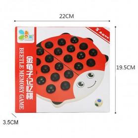 Papan Permainan Asah Otak Daya Ingat Model Kumbang - Multi-Color - 7