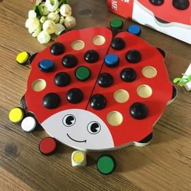 Papan Permainan Asah Otak Daya Ingat Model Kumbang - Multi-Color - 8