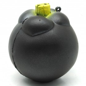 Squishy Toy Model Mangosteen - Black