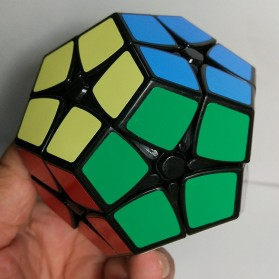 Shengshou Rubik Megaminx Cube 2 x 2 - Black - 7