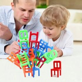 Mainan Tumpuk Kursi Keseimbangan - Multi-Color - 2
