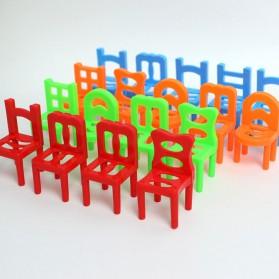 Mainan Tumpuk Kursi Keseimbangan - Multi-Color - 3