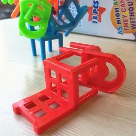 Mainan Tumpuk Kursi Keseimbangan - Multi-Color - 6