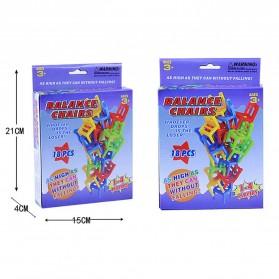 Mainan Tumpuk Kursi Keseimbangan - Multi-Color - 7