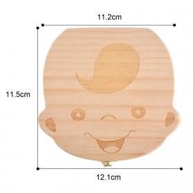 Kotak Gigi Susu Bayi Model Bayi Laki-Laki - 5
