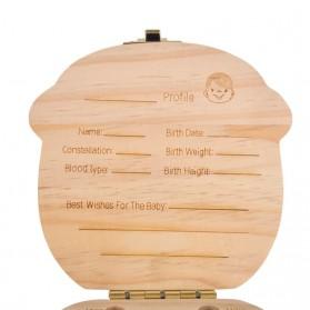 Kotak Gigi Susu Bayi Model Bayi Laki-Laki - 6
