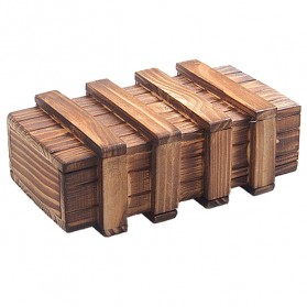 Kotak Kayu Puzzle 3D