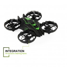 JXD 515W Quadcopter Drone Wifi dengan Kamera 0.3MP - Black/Green - 2