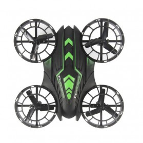 JXD 515W Quadcopter Drone Wifi dengan Kamera 0.3MP - Black/Green - 3