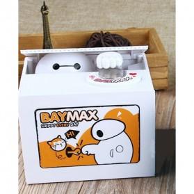 Celengan Koin Stealing Baymax - Yellow