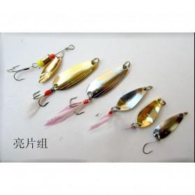 LIXADA Umpan Pancing Ikan Set Finishing bait kit-33 100 PCS - DWS230 - Multi-Color - 2