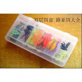 LIXADA Umpan Pancing Ikan Set Finishing bait kit-33 100 PCS - DWS230 - Multi-Color - 7