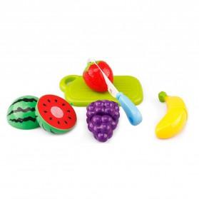 Pretend&Play Mainan Anak Miniatur Buah dan Sayur 6 PCS - Multi-Color - 2