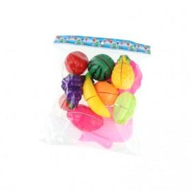 Mainan Anak Miniatur Buah dan Sayur 13 PCS - Multi-Color - 6