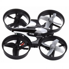 JJRC H36 Mini Drone Quadcopter 6 Axis 2.4G 4CH - Black - 3